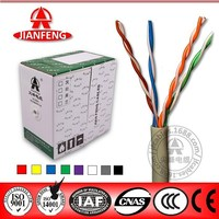 high performance 305m 100Mhz UTP CAT5e network cable