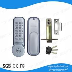 304 Stainless Steel High Security Mechanical Keyless Door Lock