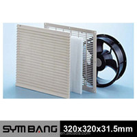 FU250-B plastic fan cover for any size cooling fan