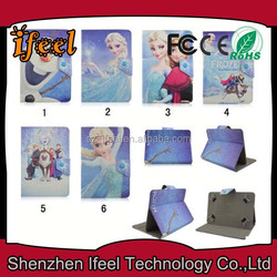 HOT Cartoon Universal Silicone Kid Proof Rugged Tablet Case For 7 Inch Tablet 2015 New Style Shock Proof