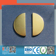 Customized NdFeB Magnets Big Size With Gold Coating