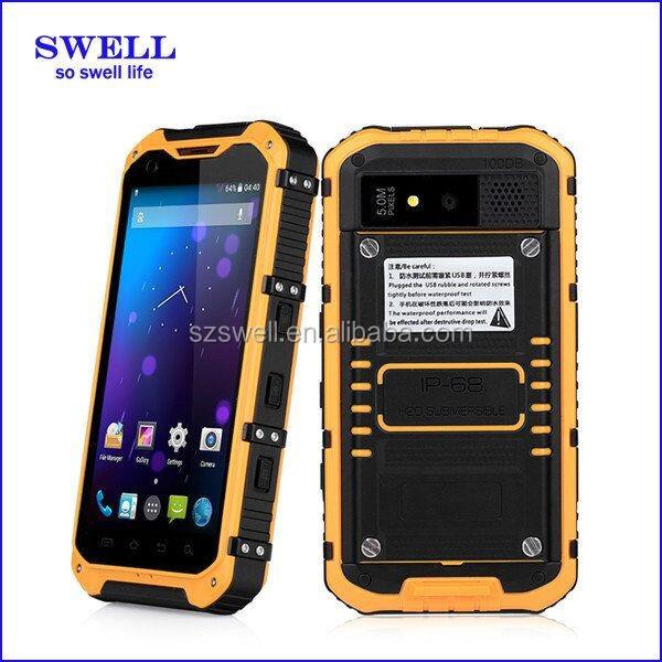 cheap rugged cell phones waterproof elderly people 3g