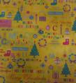 cor do pantone impressa tecido de papel de presente