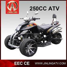 Chinese EEC 250cc sport ATV Racing Trike with reverse