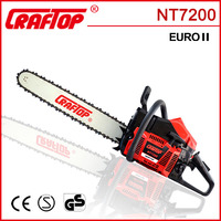 72cc petrol chain saw wood cutting machine