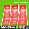 papel de arte etiqueta de la etiqueta para la ropa