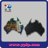 Map of Australia Photo Insert Printed Acrylic Fridge Magnets
