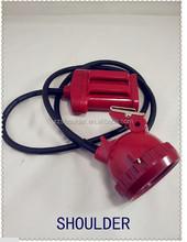 rechargeable 5w lantern headlamp The bicycle headlight head flashlight