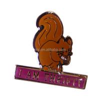 fashionable cheap gold plating enamel animal brooch pins