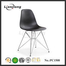 High quality clear eames chair with stainless steel frame
