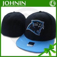 Good selling Carolina Panthers Fitted Black snapback hats wholesale logo design sell well promotion sports hat