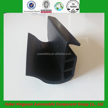 ISO9001 certificate conveniently installed heat resistant NR rubber aluminum door and window seal strip