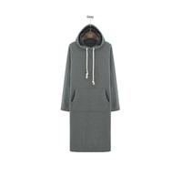 W71163G 2015 new design soft cotton long women wholesale plain custom hoodies dress style with hood