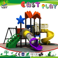 Galvanized Steel Metel childrens outdoor toys/garden play equipment
