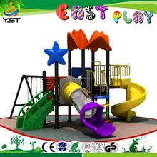 Galvanized Steel Metel childrens outdoor toys/garden play equipment