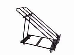 foldable metal produce fruit and supermarket vegetable and fruit dispaly shelf rack rolling display cart