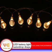 China wholesale outdoor lighting battery string light cheap battery operated string lights