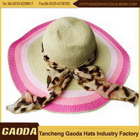 White Church Hats Lady Straw Boater Hat