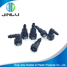 Plastic connect coupling quick tube insert