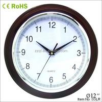 30cm wall mounted novelty custom wood clock bezel