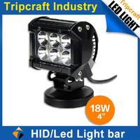 "Factory direct 4"" led driving light 18W LED work light off road led light"