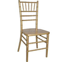 Hot Selling Metal Stacking Tiffany Chair For We/Tiffany Chair/Aluminum Chiavari Chair Tiffany Chair napoleon chair Used in Hotel