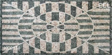 marble mosaic tile stone,Grid supported natural stone mosaic