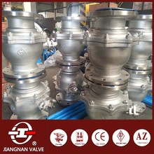 Flange Ball Valve SS Body Metal Teflon Seat Manual