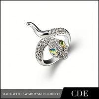 Fashion Accessories Snake Shaped Turkish Wedding Rings