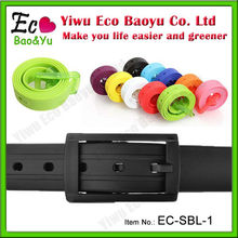 Assorted Colors Silicone Rubber Belt