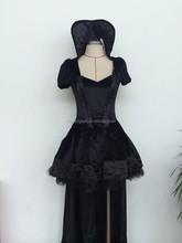 Instyles Quanzhou China manufacturer Deluxe Vampire Queen Ladies Halloween Fancy Dress Womens Vampiress Costume