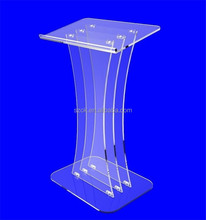 Portable unique transparent acrylic pulpit for wholesale