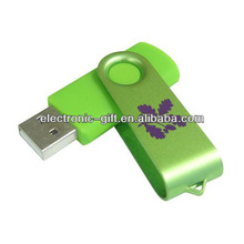 Most Welcomed Top Quality Logo Printed 1GB Swivel USB Flash Drive free samples
