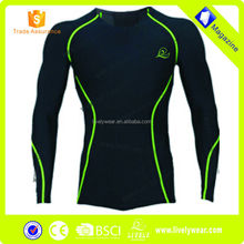 Lively Custom long sleeve compression jersey,compression long tops,compression wear
