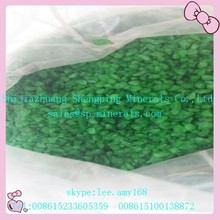 Green Crushed Clear Recycled Glass Sand for Water Filter Machine