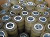 Polyurethane coated wheel urethane coated wheel rubber coated wheel