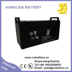 deep cycle free maintenance 12v 120ah solar batteries, vrla battery