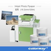 "Professional Inkjet Photo Paper, 10""X100m Lustre Dry Lab Paper for Kodak 260gsm"