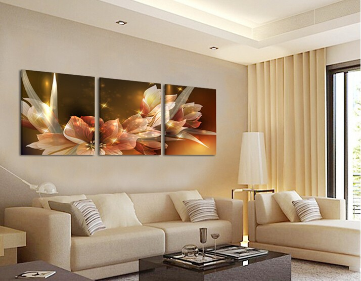 Piece Art Cheap Picture Home Decor On Canvas Modern Wall Prints No