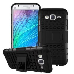 2 in 1 Hybrid Heavy Duty Shockproof Stand Cover Case For Samsung Galaxy J5
