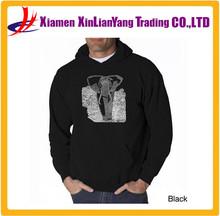 Elephant Print wholesale Pullover Fleece hoodies manufacturers