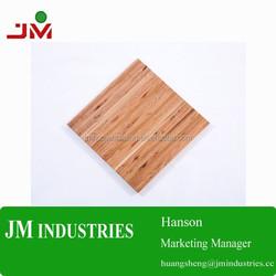 Solid wood tops/wood work table tops /Maple edge grain butcher block kitchen counter tops