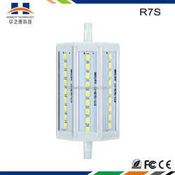 r7s led bulb with isolate driver 8w dimmable LED R7S