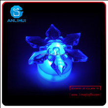 Christmas star shaped plastic candle battery operated led tea light candle