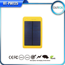 2015 Hot Seller Outdoor Waterproof Solar Power Bank 10000mah Portable Charger