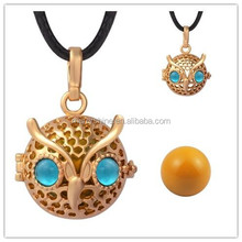 H207A18 High Quality Promised Cage Ball Pendant Wholesale Angel Chimes Bola Pendants Women Jewelry