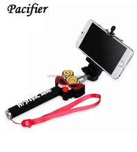 BEST SELLING Bluetooth Camera Wireless Cartoon Selfie Stick for phone
