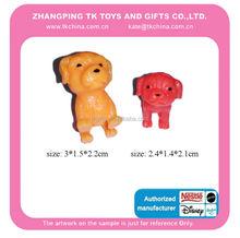 dog figurines wholesale mini plastic dog figurines
