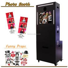 Popular utilizando Photobooth kiosco en Europen mercado para expendedora / evento