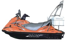 SANJ 1100cc 4 Stroke Engine cheap Personal watercraft water scooter CE NDV certificated fishing jet ski fishing